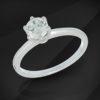 Diamond Solitaire Ring - MIKU Diamonds