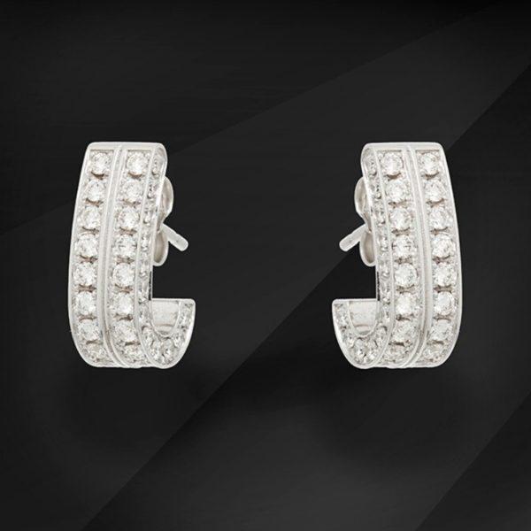 Flora Diamond earrings - MIKU Diamonds